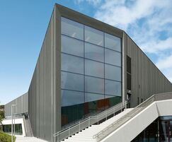 RHEINZINK cladding for Ulstein Arena, Norway