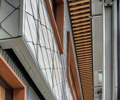 RHEINZINK facade system - Pier 17, New York