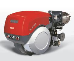 E EV BLU series low NOx modulating gas burner