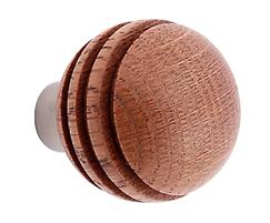 41110G natural mahogany with satin chrome component