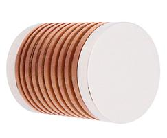 41290 38mm sanded beech with copper plated components