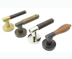 A selection of Arbor lever handles