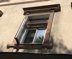 Window fittings ensure windows stay open