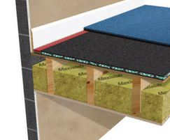 Acoustilay flooring being used above Maxi 60 ceiling
