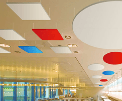 CLOUDSORBA® suspended acoustic ceiling panels