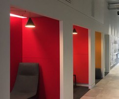 WALLSORBA® acoustic panels for office meeting booths