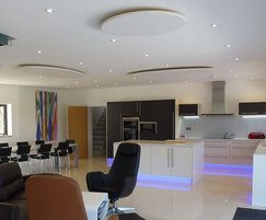 CLOUDSORBA® acoustic ceiling panels for private kitchen
