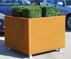 Bowden planters are modular for large and long planters