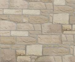 Mixed Buff random walling stone
