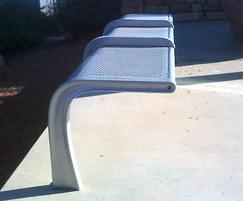 Bespoke transport interchange and waiting area seating
