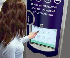 Interactive travel information and ticket booking kiosk