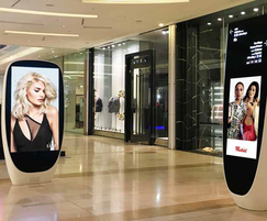 Digital advertising displays, Westfield Shopping Centre