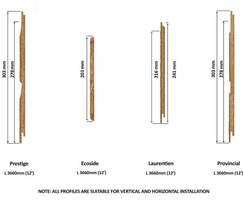 Naturetech® plank profiles