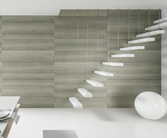 VOX Kerradeco Wood Silver internal PVC wall panels