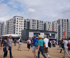 The Athletes' Village (by ChelmsfordBlue on Flickr)