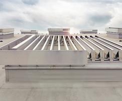 Es-Louvre - wind load resistant smoke vents