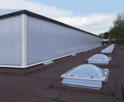 Em-Line Vertical oversleeve glazing