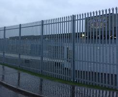Lochrin® Palisade securing  Whisky firms site
