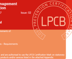 Lochrin Bain: ISO 9001:2015 accreditation for Lochrin Bain's fencing