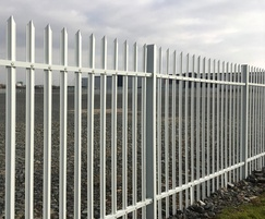 High security fencing for business park