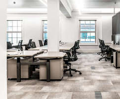 The result is a high specification modern workspace