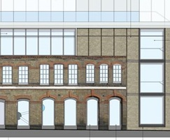 Balfe street elevation