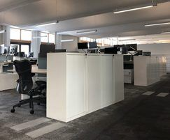 Underfloor aircondition system for global HQ