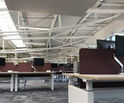 Underfloor air conditioning system for global HQ