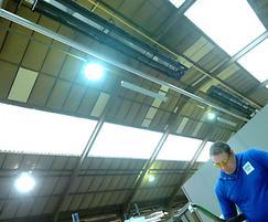 Vision VSX energy efficient radiant tube heatin