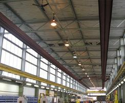 Sonning high-level radiant tube heating