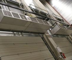 ABX industrial air curtains