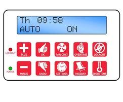 SmartCom energy saving controller panel