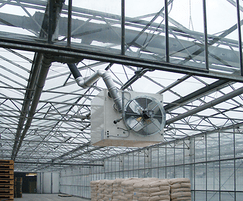 UDSA warm air unit heater