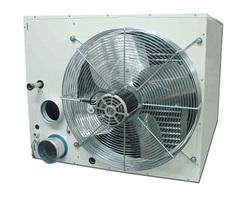 UESA condensing room sealed unit heater rear