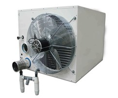 UESA condensing room sealed unit heater condense drain