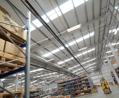 Radiant heating for new SEW Eurodrive facility