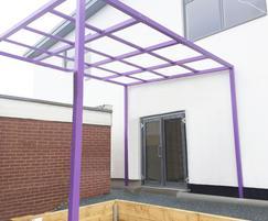 Bespoke external canopy