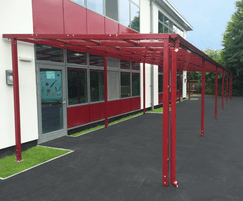 Monopitch canopy
