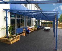 External bespoke canopy