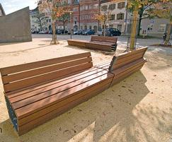 Bailey Streetscene: New Cado Corpus series of seats and benches