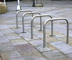 Stainless steel Sheffield cycle stands