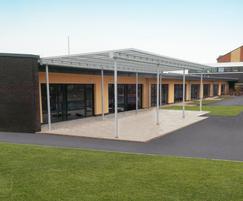 Lawley Village Primary School - external canopy
