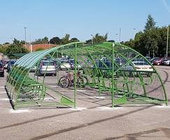 Bailey Streetscene: New Look get New Cycle Shelters