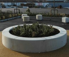 Roosevelt Circular Planter