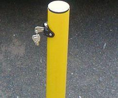 Lockable Fold Down Parking Post