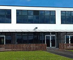 External canopy shelter for primary school
