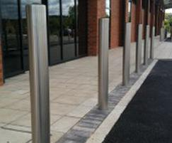 Semi Dome Top Stainless Steel Bollard