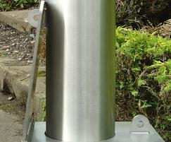 Removable Stainless Steel Bollard