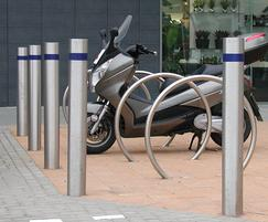 Circular Stainless Steel Cycle Stand