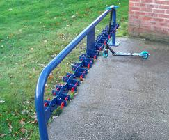 Double Sided Scooter Rack - no locking bar